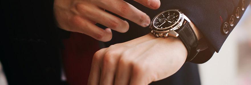 La montre pour homme